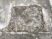 Alte Sprungszement-Bodenbeschaffenheit Stockbilder
