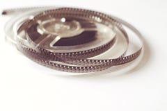 Alte Spulen mit Schwarzweiss-Film Lizenzfreies Stockbild