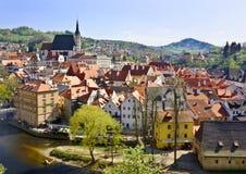 Alte Stadt (Äeskà ½ Krumlov) Lizenzfreie Stockfotografie