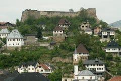 Alte Stadt Stockbild