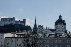Alte Stadt (Altstadt) Salzburg, Österreich Stockbild