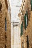 Alte Stadt-Ansicht Lizenzfreies Stockfoto