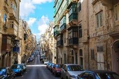 Alte Stadt-Ansicht Stockbild