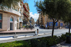 Alte Stadt-Ansicht Stockfoto