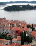 Alte Stadt. Ansicht von über 10 Stockbild