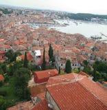 Alte Stadt. Ansicht von über 5 Lizenzfreies Stockbild