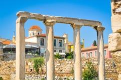 Alte Stadt in Athen, Griechenland Stockfotografie