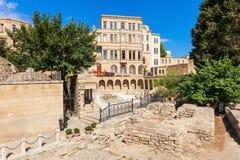 Alte Stadt in Baku Stockbilder