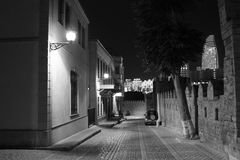 Alte Stadt Bakus Lizenzfreie Stockfotos