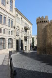 Alte Stadt Bakus Lizenzfreie Stockfotografie