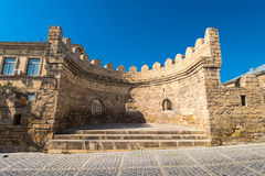 Alte Stadt Bakus, Verstärkung Lizenzfreie Stockfotografie