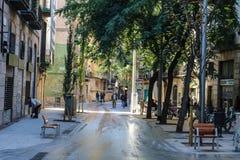 Alte Stadt Barcelonas Lizenzfreies Stockbild