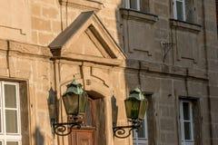 Alte Stadt Bayreuth der Fassade Lizenzfreies Stockfoto