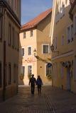 Alte Stadt Bayreuths Stockfotografie