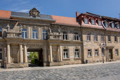Alte Stadt 2017 Bayreuths lizenzfreies stockbild