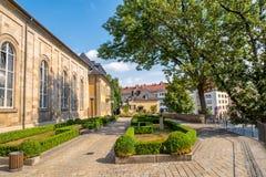 Alte Stadt Bayreuths Lizenzfreie Stockfotos