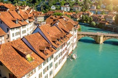 Alte Stadt Berns in der Schweiz Stockfoto