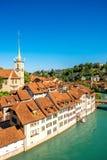 Alte Stadt Berns in der Schweiz Lizenzfreies Stockbild