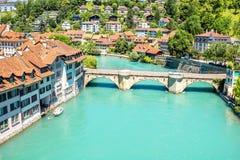 Alte Stadt Berns in der Schweiz Stockbilder