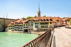 Alte Stadt Berns in der Schweiz Stockfotografie