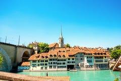 Alte Stadt Berns in der Schweiz Lizenzfreies Stockfoto
