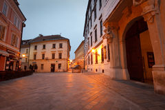 Alte Stadt in Bratislava Stockbild