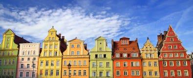 Alte Stadt in Breslau, Polen, Europa Lizenzfreie Stockfotos