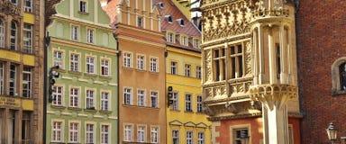 Alte Stadt in Breslau, Polen, Europa Lizenzfreies Stockfoto