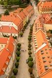 Alte Stadt Breslaus Stockfotografie