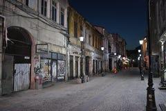 Alte Stadt Bucharest Stockfotos