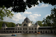 Alte Stadt Budapest Ungarn Lizenzfreie Stockbilder