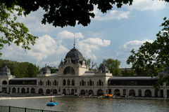Alte Stadt Budapest Ungarn Stockfotos