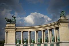 Alte Stadt Budapest Ungarn Stockbilder