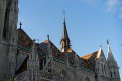 Alte Stadt Budapest Ungarn Stockfotografie