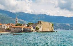 Alte Stadt Budva in Montenegro stockfoto