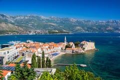 Alte Stadt Budva, Montenegro Lizenzfreies Stockbild