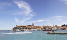 Alte Stadt Budva montenegro lizenzfreies stockbild