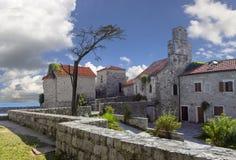 Alte Stadt Budva montenegro stockbild