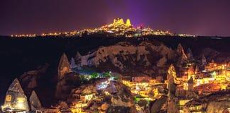Alte Stadt Cappadocia in der Türkei Stockfotos