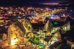 Alte Stadt Cappadocia in der Türkei Stockfotografie