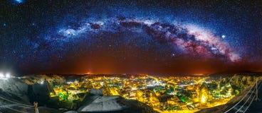 Alte Stadt Cappadocia in der Türkei Stockbild
