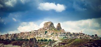 Alte Stadt Cappadocia in der Türkei stockbilder