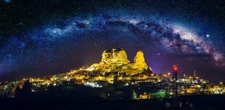 Alte Stadt Cappadocia in der Türkei Lizenzfreies Stockbild