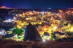 Alte Stadt Cappadocia in der Türkei Lizenzfreie Stockfotos