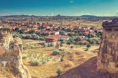 Alte Stadt Cappadocia in der Türkei Lizenzfreies Stockfoto