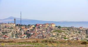 Alte Stadt in Cappadocia, die Türkei lizenzfreies stockbild