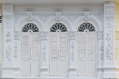 Alte Stadt-Chinos Phuket portugiesisches Art-Gebäude Stockbild