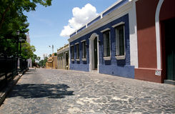 Alte Stadt, Ciudad Bolivar, Venezuela lizenzfreies stockfoto