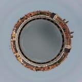 Alte Stadt composited in Photoshop Lizenzfreie Stockfotografie
