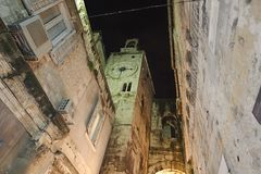 Alte Stadt der Spalte Stockfoto